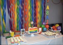 Rainbow Half Birthday
